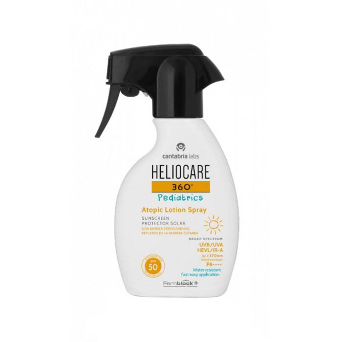 Cantabria Labs Heliocare 360 Pediatrics Atopic Lotion Spray Детский солнцезащитный лосьон для атопической кожи