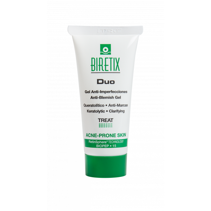 Cantabria Biretix Duo–Purifying Exfoliant Gel / Anti-Blemish Gel Себорегулирующий гель