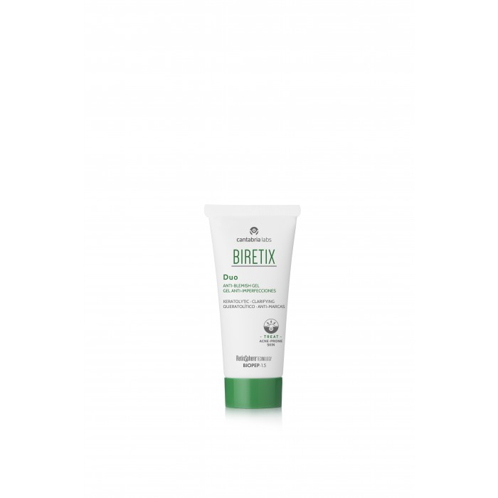 Cantabria Biretix Duo–Purifying Exfoliant Gel / Anti-Blemish Gel Себорегулирующий гель