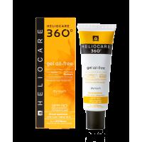 Cantabria Heliocare 360 Gel Oil-Free Dry Touch SPF 50 Sunscreen SPF 50+ Солнцезащитный гель на водной основе с SPF 50+ для нормальной и жирной кожи