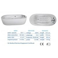 Гидромассажная ванна Medica от NeoQi